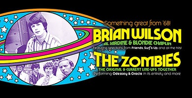 More Info for Brian Wilson and The Zombies: Something Great From '68 Tour