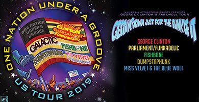 More Info for George Clinton & Parliament Funkadelic | One Nation Under a Groove Tour
