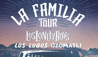 More Info for Los Lonely Boys, Los Lobos, and Ozomatli