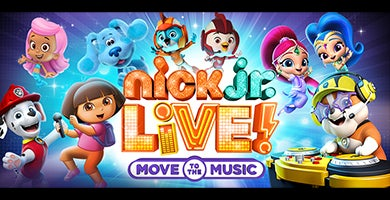 More Info for Nick Jr Live! Move to the Music