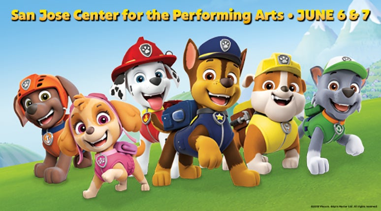 Rescheduled Paw Patrol Live Race To The Rescue Nederlander Concerts