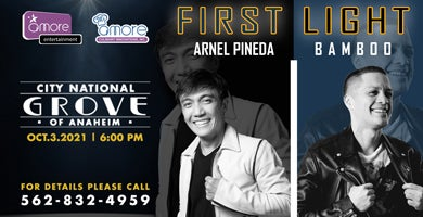 More Info for First Light with Arnel Pineda and Bamboo