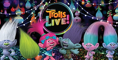 More Info for RESCHEDULED - Trolls LIVE!
